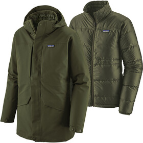 Patagonia Tres 3-in-1 Parka Heren, kelp forest